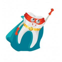 Custom Tooth Mascot Costume