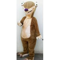 Ice Age Sid The Sloth Mascot Costume