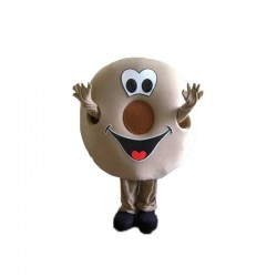 Donut or Bagel Mascot Costume for Adult