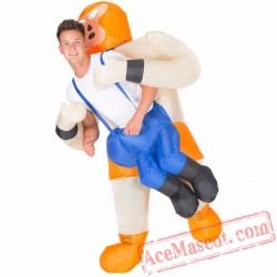Adult Blow Up / Inflatable Wrestler Costume