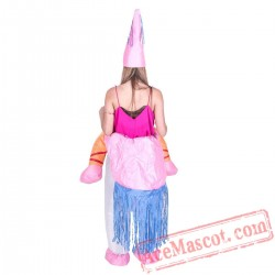 Adult Blow Up / Inflatable Unicorn Costume