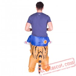 Adult Blow Up / Inflatable Tiger Costume
