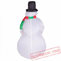 Adult Blow Up / Inflatable Snowman Costume