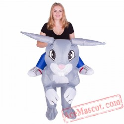 Adult Blow Up / Inflatable Rabbit Costume