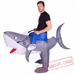 Adult Blow Up / Inflatable Shark Costume