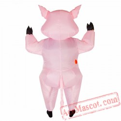 Adult Blow Up / Inflatable Pig Costume