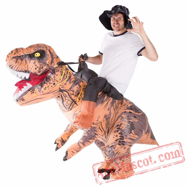 Adult Blow Up / Inflatable Deluxe Dinosaur Costume