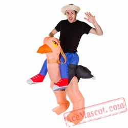 Adult Blow Up / Inflatable Ostrich Costume