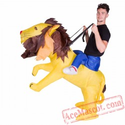 Adult Blow Up / Inflatable Lion Costume