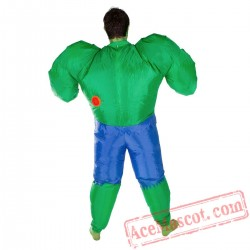 Adult Blow Up / Inflatable Hulk Costume
