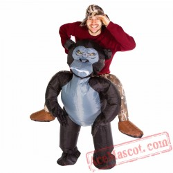 Adult Blow Up / Inflatable Gorilla Costume