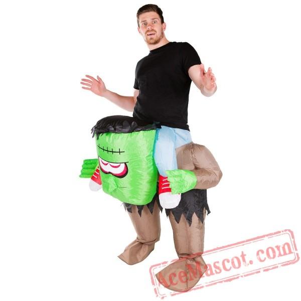 Adult Blow Up / Inflatable Frankenstein Costume