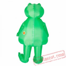 Adult Blow Up / Inflatable Frog Costume