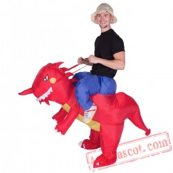 Adult Blow Up / Inflatable Dragon Costume