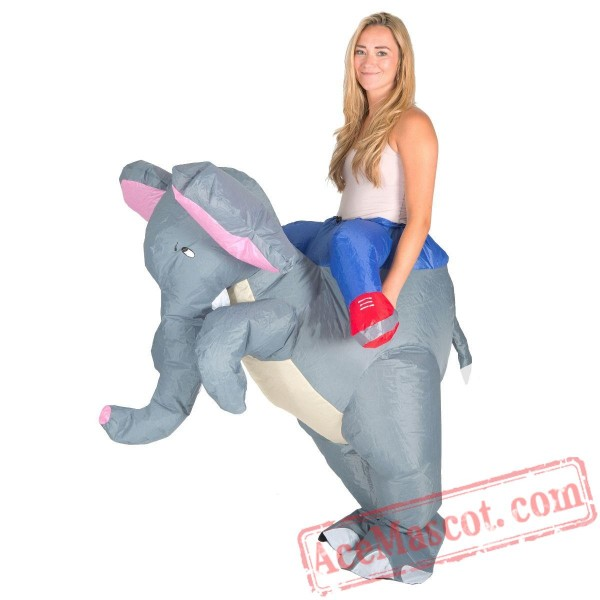 Adult Blow Up / Inflatable Elephant Costume