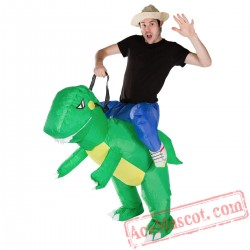 Adult Blow Up / Inflatable Dinosaur Costume