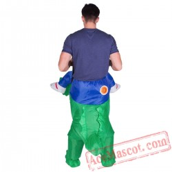 Adult Blow Up / Inflatable Crocodile Costume