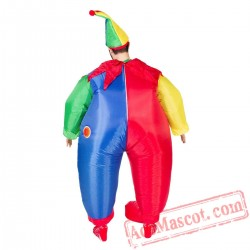 Adult Blow Up / Inflatable Clown Costume