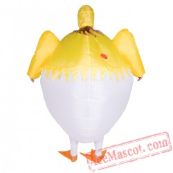 Adult Blow Up / Inflatable Chick Costume