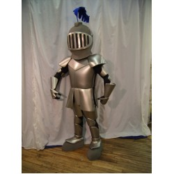 Knight In Shining Armour Mascot Costume
