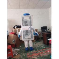 Billy Buck Money Cash Mascot Costume