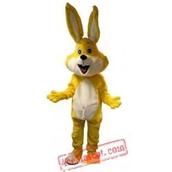 Yellow Rabbit Bugs Bunny Mascot Costume