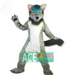 Animal Adult Cosplay Wolf Mascot Costume