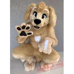 Dog Fursuit Costumes Animal Mascot for Adults