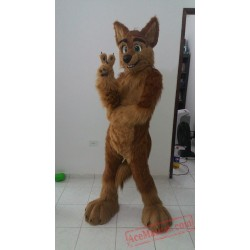 Wolf Dog Fursuit Costumes Animal Mascot for Adults