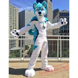 Husky Dog Fursuit Costumes Animal Mascot for Adults
