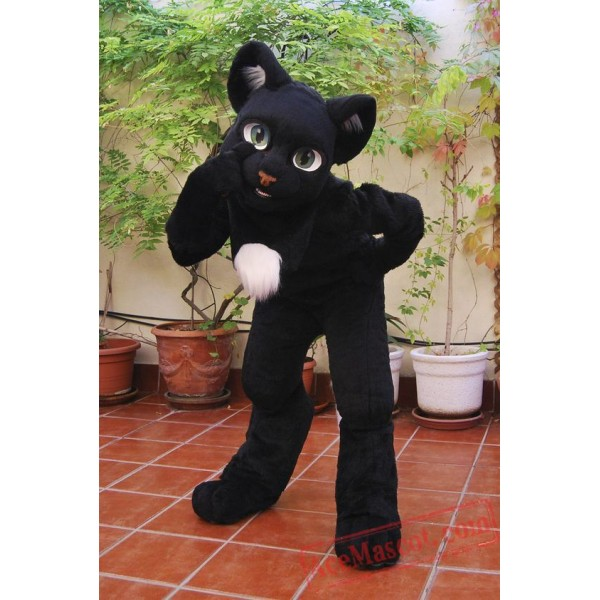 Cat Fursuit Costumes Animal Mascot for Adults