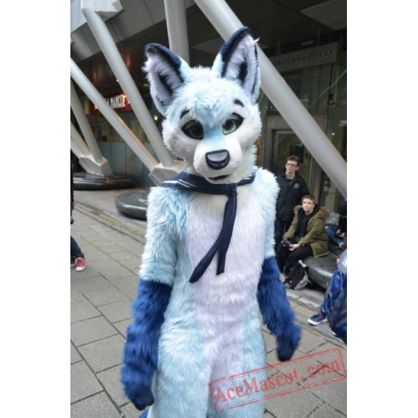 Dog Fox Wolf Girl Fursuit Costumes Animal Mascot for Adults