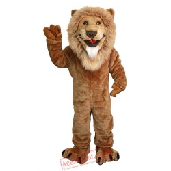 Friendly Lion Mascot Costume for Adult