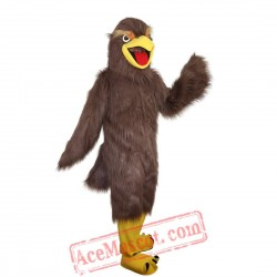 Brown Eagle Mascot Costume for Adult