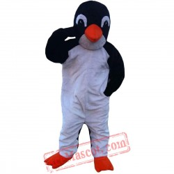 Black And White Penguin Mascot Costume for Adult