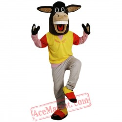 Athletic Sport Donkey Mascot Costume for Adult