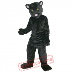 Black Leopard Panther Mascot Costume for Adult
