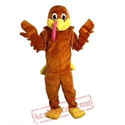 Turkey Mascot Costume for Adult
