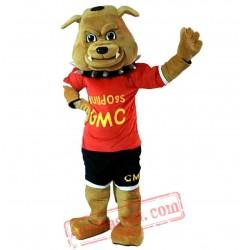 Bulldog Mascot Costume for Adult