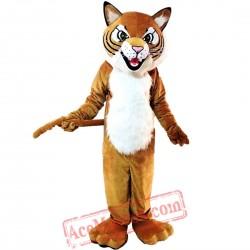 Tiger Wild Cat Mascot Costume