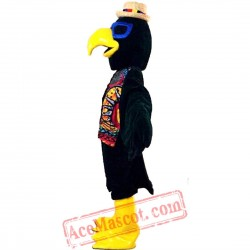 Indian Eagle Parrot Mascot Costume