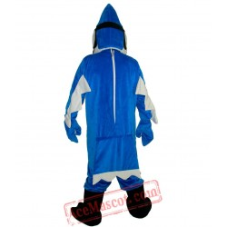 Blue Bird Mascot Costume for Adult