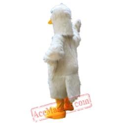 White Goose Mascot Costume