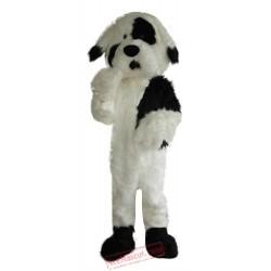Long Plush Dog Mascot Costume
