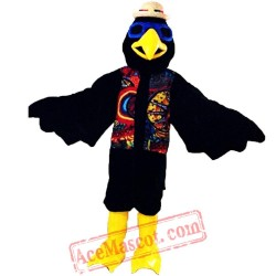Halloween Indian Eagle Mascot Costume