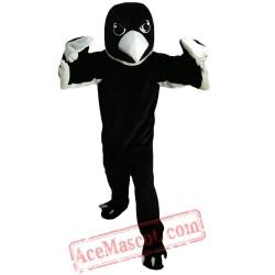Black And White Eagle Mascot Costume