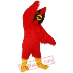 Mascot Red Eagle Bird Mascot Costume