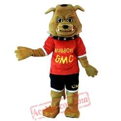 Mascot Bulldog Mascot Costume