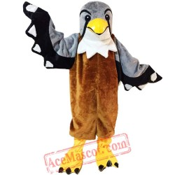 Halloween Brown Eagle Mascot Costume