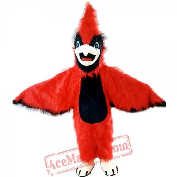 Halloween Red Eagle Bird Mascot Costume